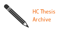 HC Thesis Archive
